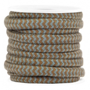Dreamz cord 5mm Brown-grey