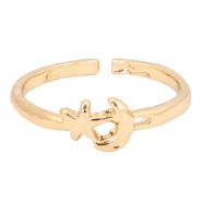 Must-have moon&star ring Gold