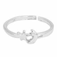 Must-have moon&star ring Silver