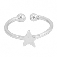 Must-have star ring Silver