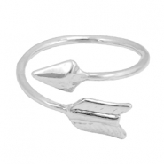 Must-have arrow ring Silver