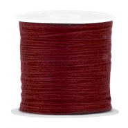DIY beading thread Brown red