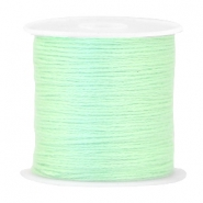 DIY beading thread Bright crysolite green