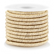 Trendy metallic string Gold