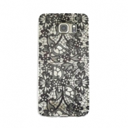 Telephonecase lace for Samsung Galaxy S7  Transparent - black