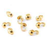 DQ calottes 4mm Gold plated