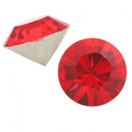 Swarovski Elements different shapes SS45 chaton (10mm) Light siam red