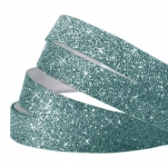 Crystal glitter tape 10mm Lagoon blue