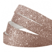 Crystal glitter tape 10mm Light brown