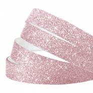 Crystal glitter tape 5mm Lilac pink