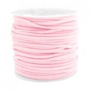 Coloured elastic cord 2.5mm Light pink
