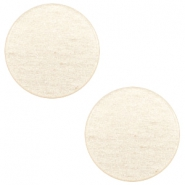 7mm flat cabochon Super Polaris Moonlight yellow