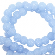 Sparkling beads 6mm Fresh Blue