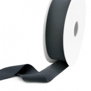 Elastic Ibiza Ribbon 25mm Anthracite Grey