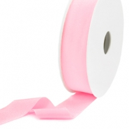 Elastic Ibiza Ribbon 25mm Light Rose