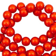 Miracle 3D beads 10mm Electric Orange