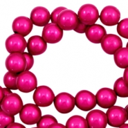 Miracle 3D beads 12mm Fuchsia Pink