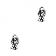 Charms TQ metal Cupido Antique Silver