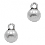 Charms TQ metal ball 16mm massive Antique Silver