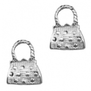 Charms TQ metal handbag Antique Silver