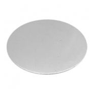 ImpressArt stamping blanks oval 25x38mm Alkeme Silver
