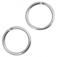 Stainless Steel findings jump ring 4mm Silver