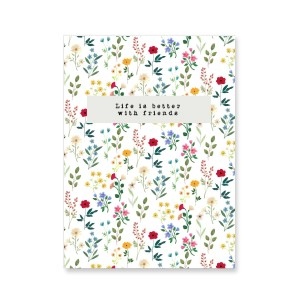 "Jewellery cards ""life is better with friends"" Multicolour"