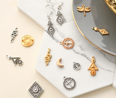 DQ European metal beads and charms