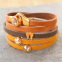 Personalised leather jewellery and accessories of top quality