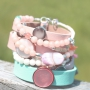 These summer Cuoio bracelets and beads are totally hot!