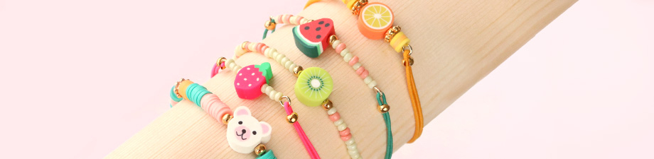 Polymer beads and charms