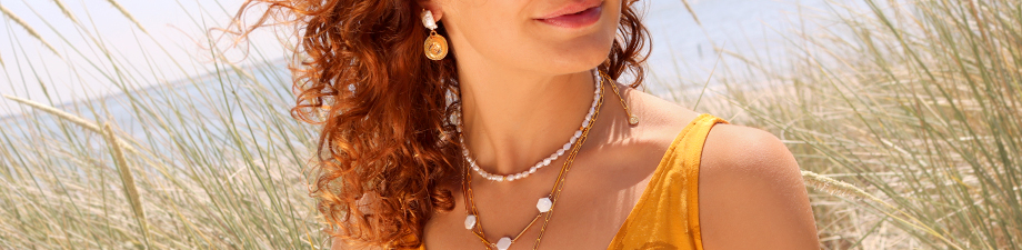 New collection of freshwater pearls in various shapes!
